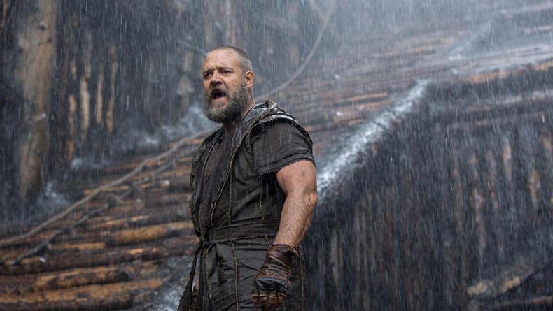 Новые фото со съемок эпического фильма Ной