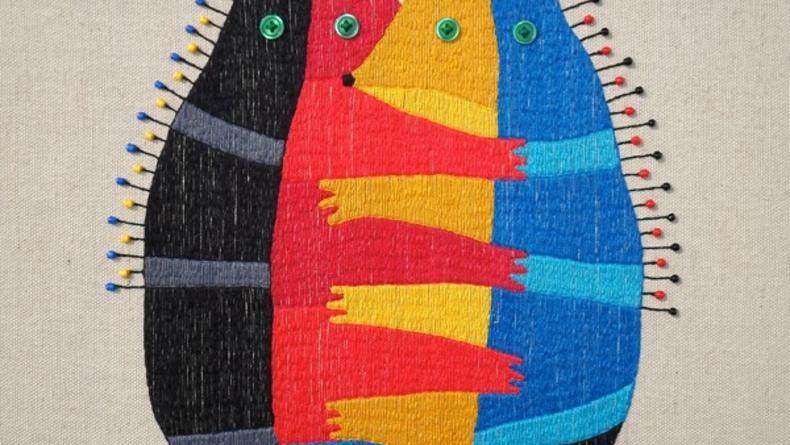Серьезный наив: проект И.Семесюка Funky textile (ФОТО)