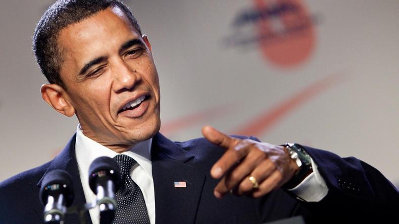 """Барак Обама """"спел"""" популярный хит Bruno Mars (ВИДЕО)"""