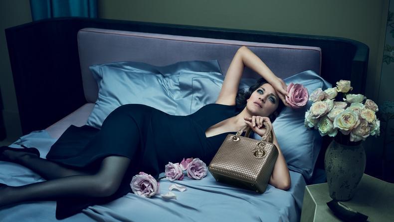 Марион Котийяр снялась в рекламе Lady Dior