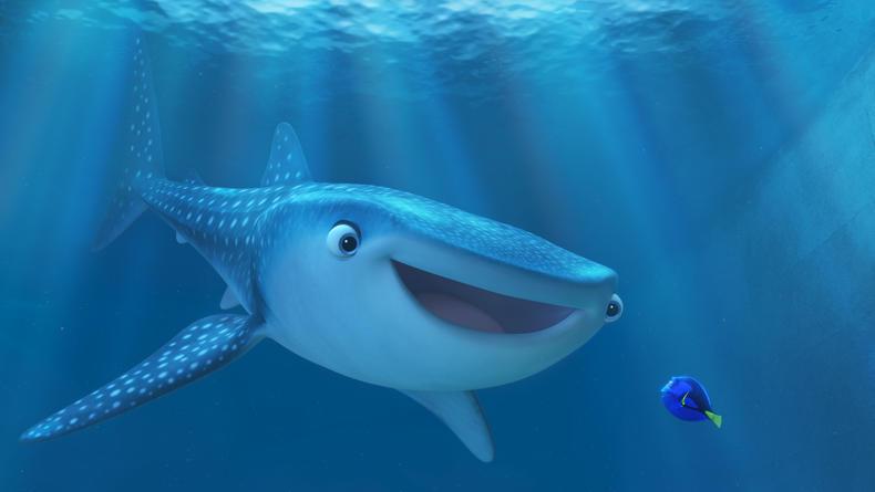 Рыбка Дори ищет свою семью