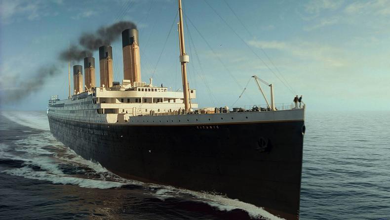 Крушение Титаника воссоздали в реальном времени