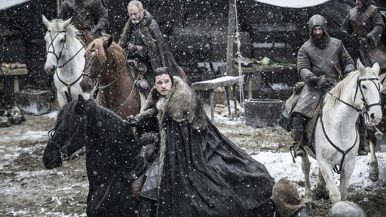 Очевидец снял съемки восьмого сезона Игры престолов