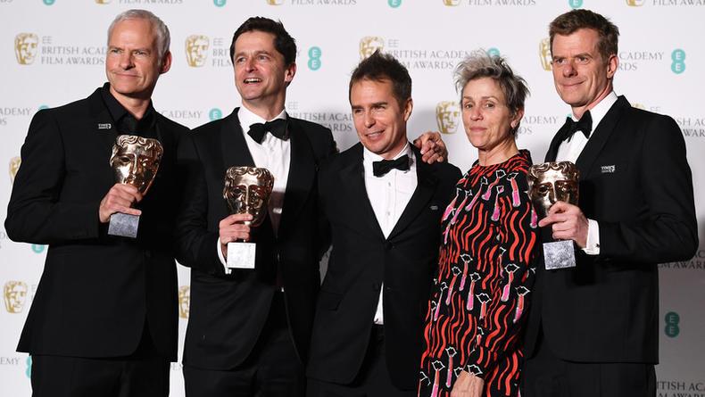 BAFTA 2018: Объявлены победители британской кинопремии