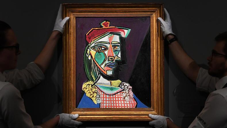 Картина Пикассо ушла с молотка за $69 млн