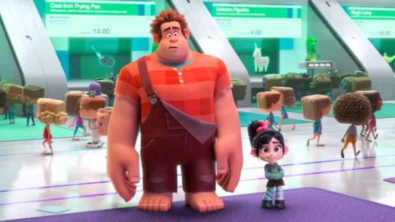 Трейлер мультфильма Ральф разрушитель 2 стал хитом сети