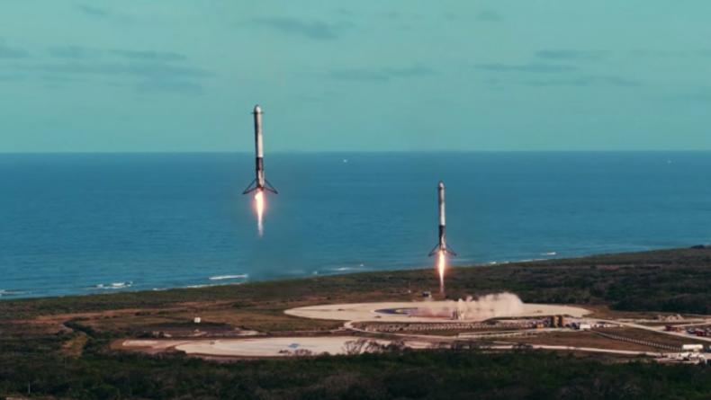Сценарист Интерселлара выпустил ролик о запуске Falcon Heavy