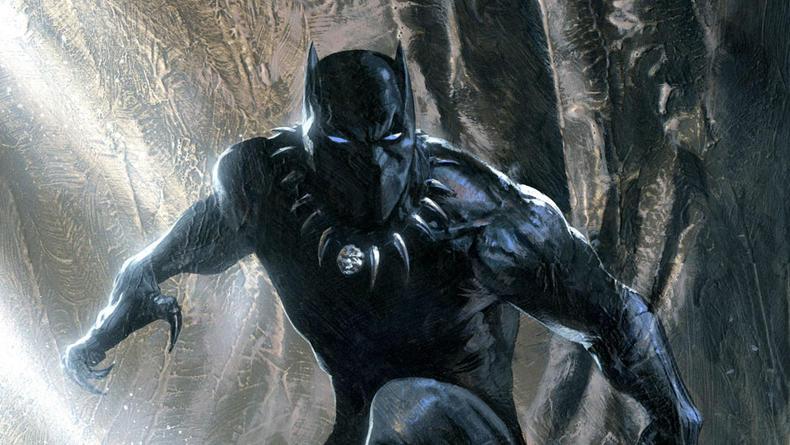 В сети показали ранний концепт костюма Черной пантеры