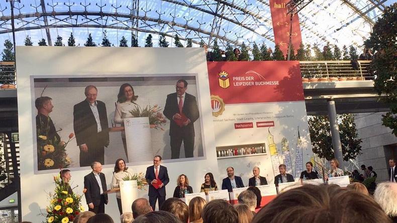 Роман Сергея Жадана получил премию книжного фестиваля в Лейпциге