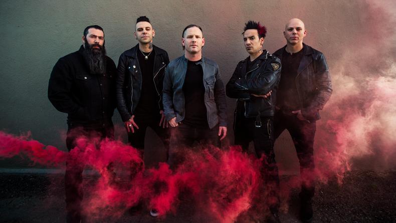 В Киеве впервые выступит металл-группа Stone Sour