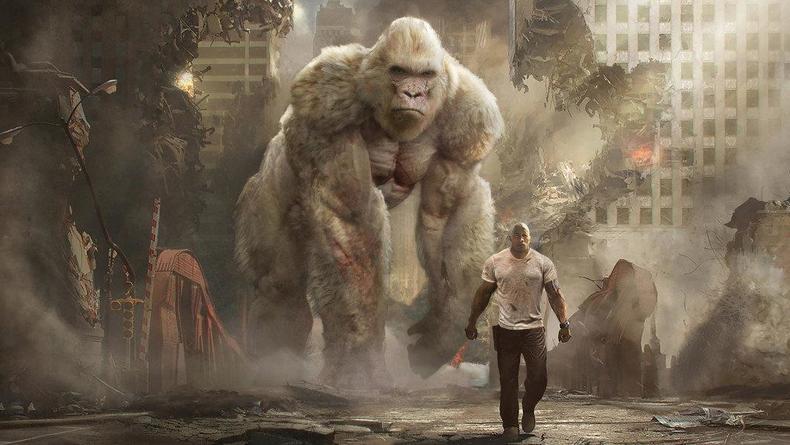 Кинопремьеры: Титан, обезьяны и Дуэйн Джонсон