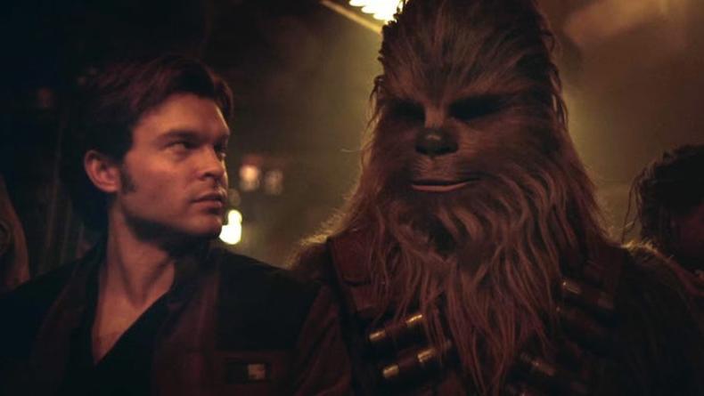 Хан Соло знакомится с Чубаккой в новом телевизионном ролике спин-оффа
