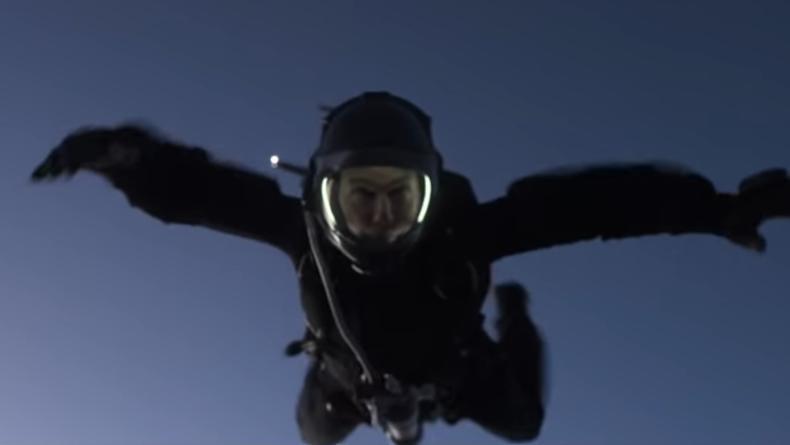Прыжок с парашютом. Опубликован ролик со съемок Миссия невыполнима: Фолаут