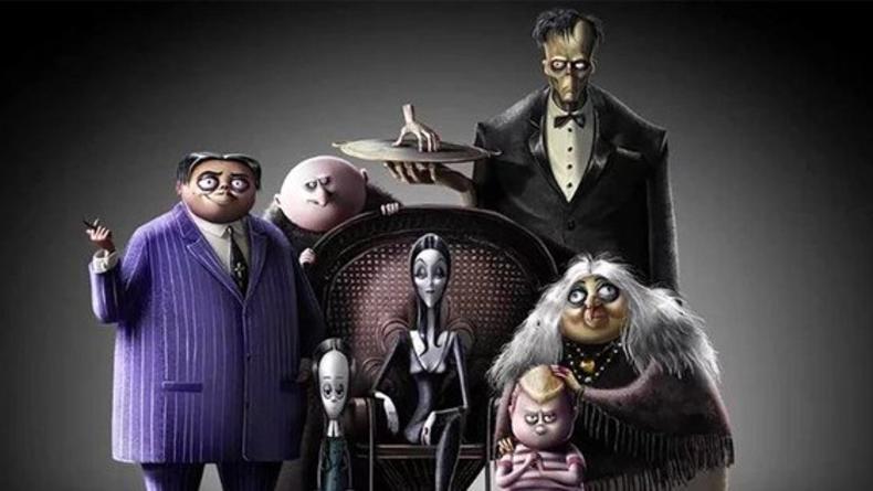 К выходу готовится новый анимационный фильм о семейке Аддамс