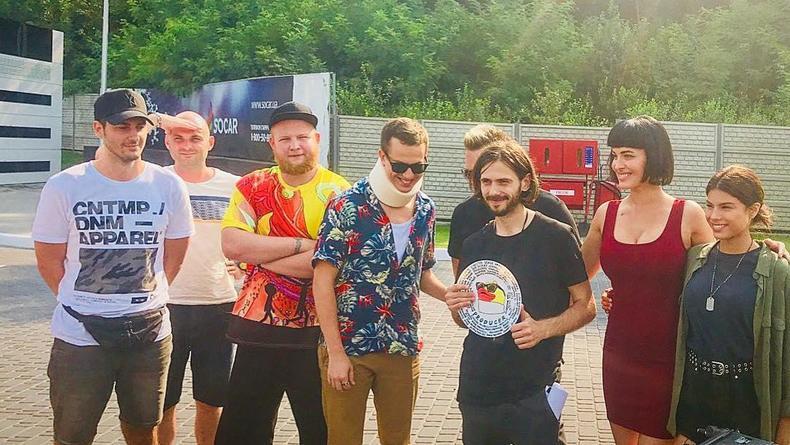 Дурнев и Чоткий Паца: Начались съемки украинской комедии Продюсер