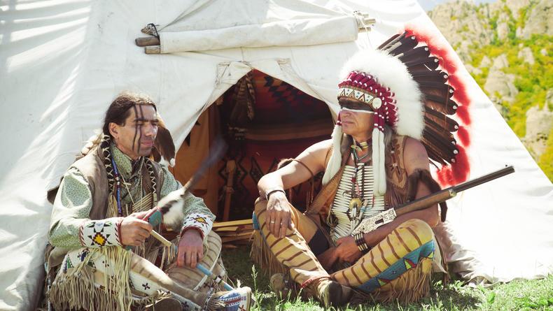 Первая индейская резервация появилась 260 лет назад