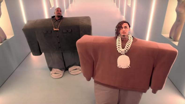 Lil Pump и Kanye West выпустили совместный клип