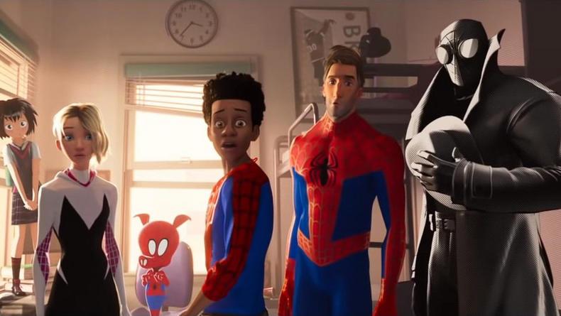 Не только Питер Паркер: Вышел трейлер Человек-Паук - Через Вселенные