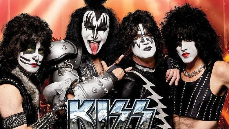 Легендарная рок-группа Kiss выступит в Украине с прощальным концертом
