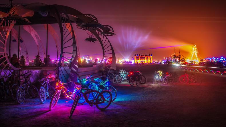 В Киеве пройдет знаменитый фестиваль Burning Man