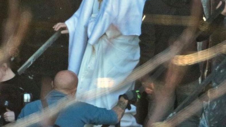 От Пуаро - к Римскому Папе: В Сеть выложили фото новых ролей Малковича