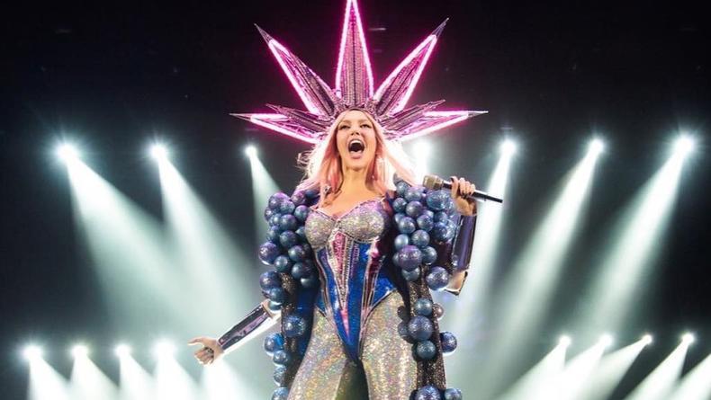 Оля Полякова показала, как готовилась к грандиозному шоу Королева Ночи
