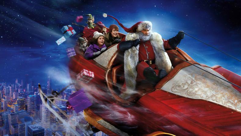 Рождественский хит: Санта Клаус с Куртом Расселом собрал 20 млн зрителей