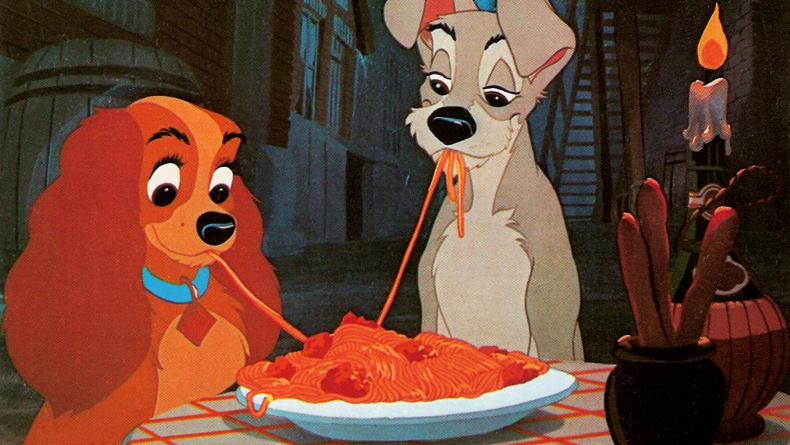 Леди и Бродяга вернутся в кино с живыми собаками