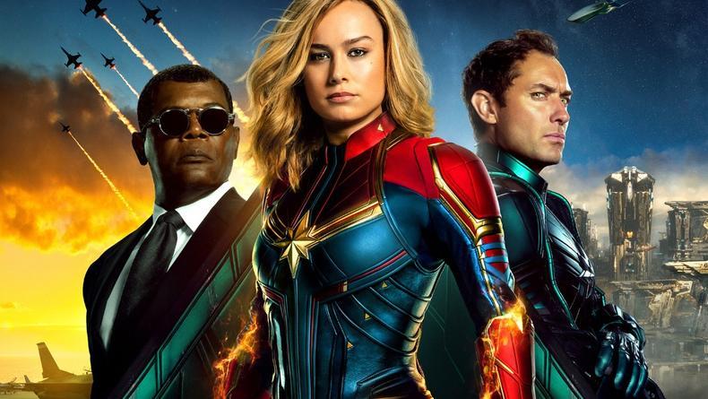 Новый рекорд: Капитан Марвел стал первым фильмом-миллиардером 2019 года