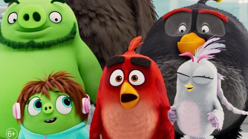 Птички и свиньи вместе: Вышел классный трейлер Angry Birds 2