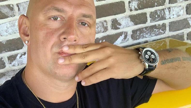 """""""Медовый месяц"""": Потап опубликовал интригующее фото с солистом Rammstein"""