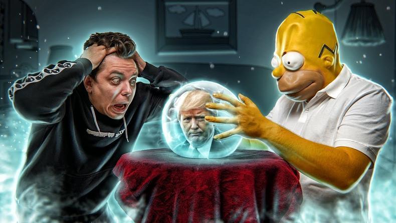 На YouTube рассказали правду о мистических предсказаниях в Симпсонах