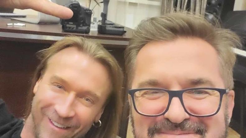 Неожиданный дуэт: Олег Винник и Александр Пономарев вместе спели колядку