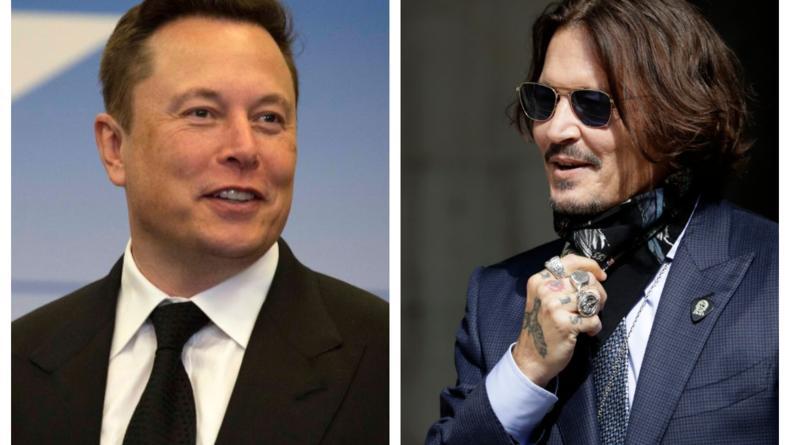 """""""Дайте знать"""": Илон Маск вызвал Джонни Деппа на бой"""
