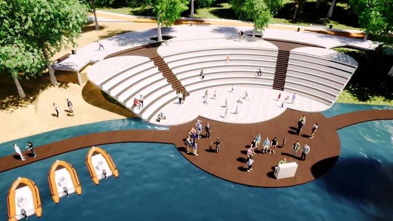 У залива Берковщина в Киеве появится новый парк