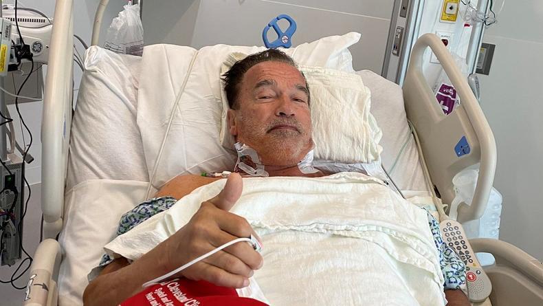 Арнольд Шварценеггер выздоравливает после операции на сердце