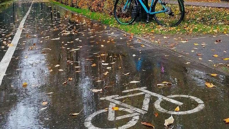 Почти как Амстердам: еще три улицы Киева обзавелись велодорожками