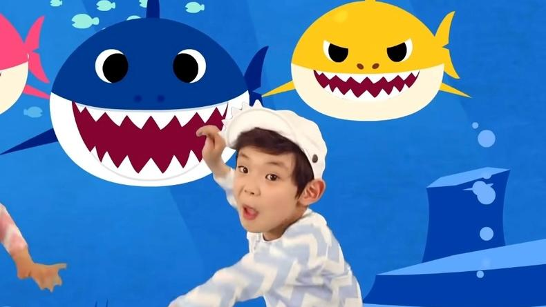 """Клип на детскую песню """"Baby Shark"""" покорил видеохостинг"""