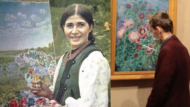 В Киеве выставили ранее невиданные картины Екатерины Белокур