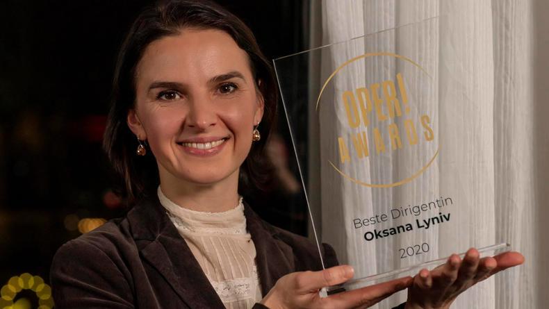 Украинку Оксану Лынив окрестили лучшим дирижером 2020 года