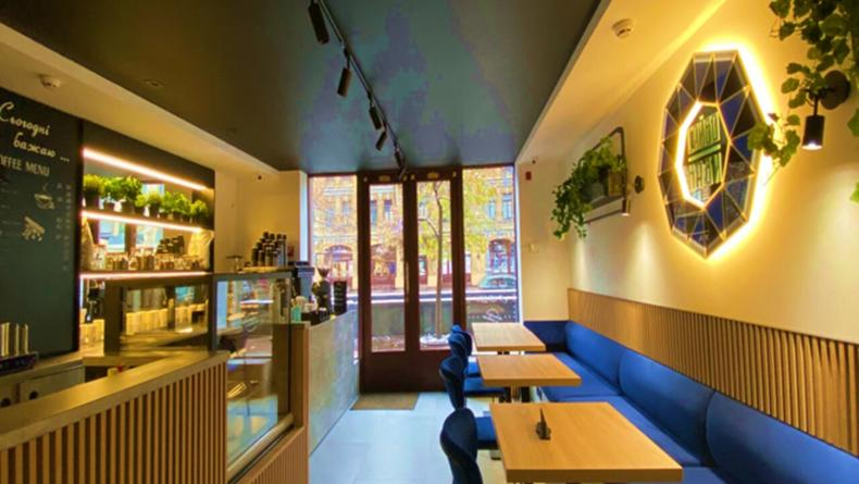 В центре Киева появилось первое муниципальное кафе с буккроссингом