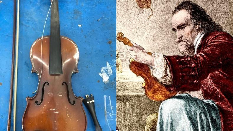 Из Украины пытались вывезти контрабандой скрипку Страдивари
