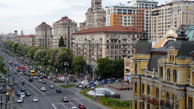 Главную улицу Киева Крещатик в новому году ждет капремонт