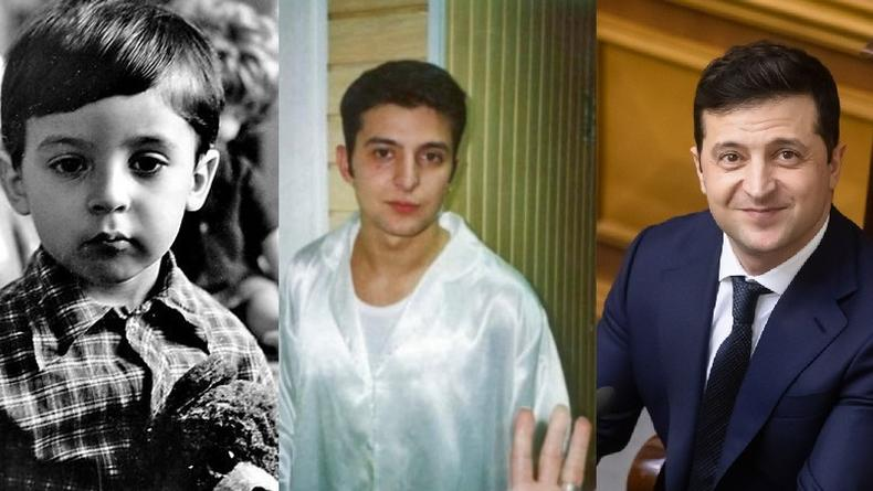 Владимир Зеленский в детстве и молодости: Лучшие фото