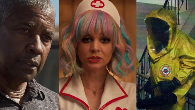 Бравый Дензел и пандемия в будущем: Что посмотреть в кино на неделе