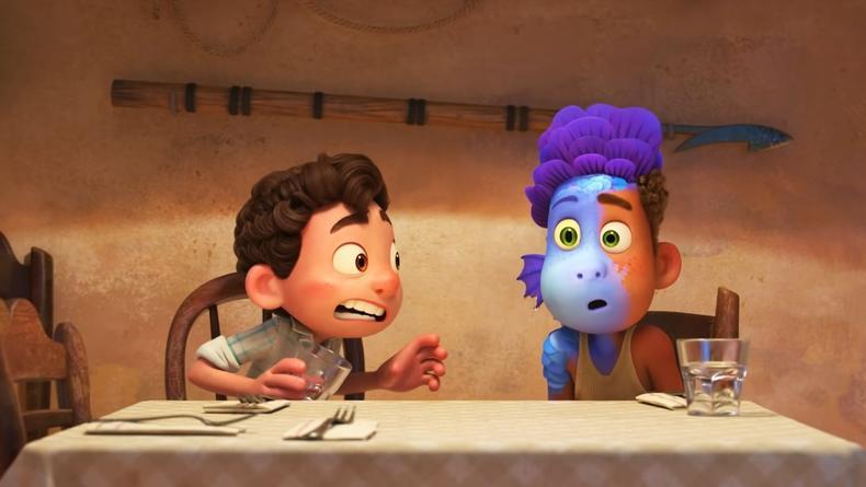 """Появился трейлер нового мультфильма """"Лука"""" от Pixar"""