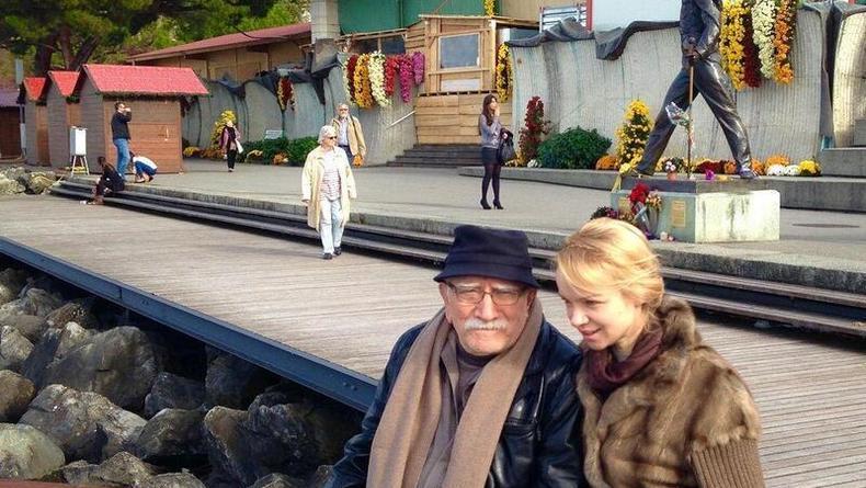 Цымбалюк-Романовская рассказала о браке с Джигарханяном
