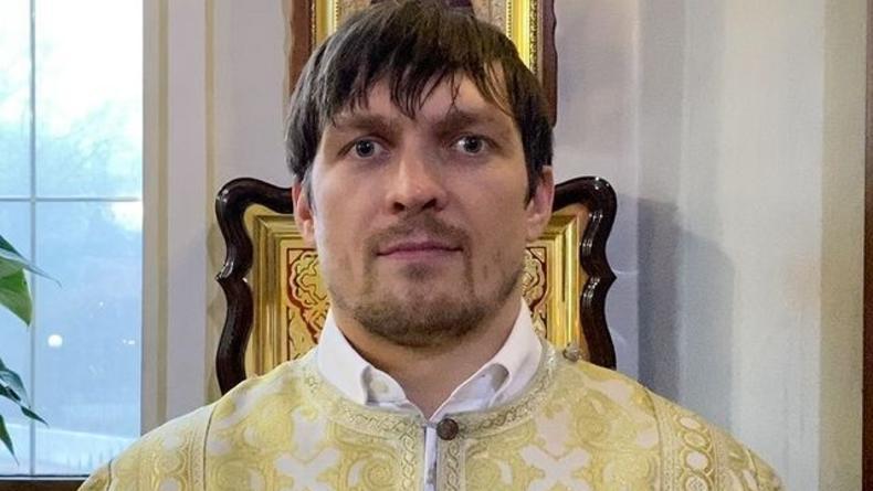 Александр Усик опроверг съемки в фильме Оксаны Марченко