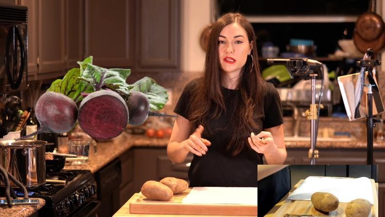 Саша Грей показала себя на кухне: Бывшая порноактриса приготовила борщ