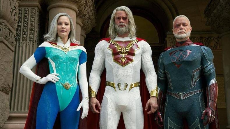 """Сериал """"Наследие Юпитера"""": Выложен трейлер с постаревшими супергероями"""